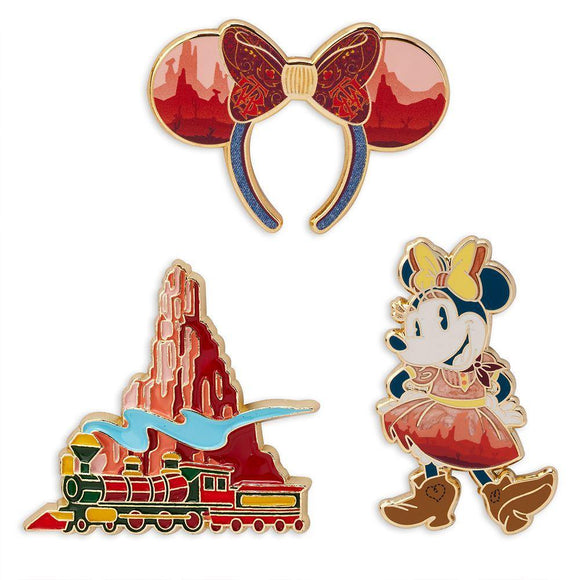 Minnie Mouse: The Main Attraction Pin Set – Big Thunder Mountain Railroad – Limited Release - Pixiedust Shopper