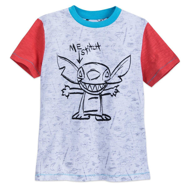 Disney Boy's Shirt - Stitch - Me Stitch T-Shirt. - Size XL