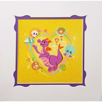 Disney Print - Journey Into Imagination Figment By Caley Hicks