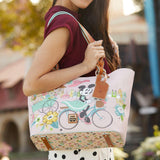 Disney Dooney & Bourke Epcot Flower and Garden Festival 2020 Minnie Mouse Tote Purse