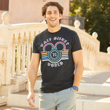Disney Pearlized Retro Mickey Mouse Icon Striped T-Shirt for Adults – Walt Disney World