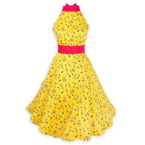 Disney Dress Shop Mickey Flamingo Halter Dress for Women