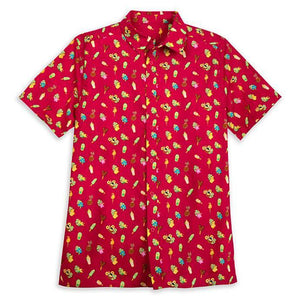 Disney Parks Aloha Shirt for Men