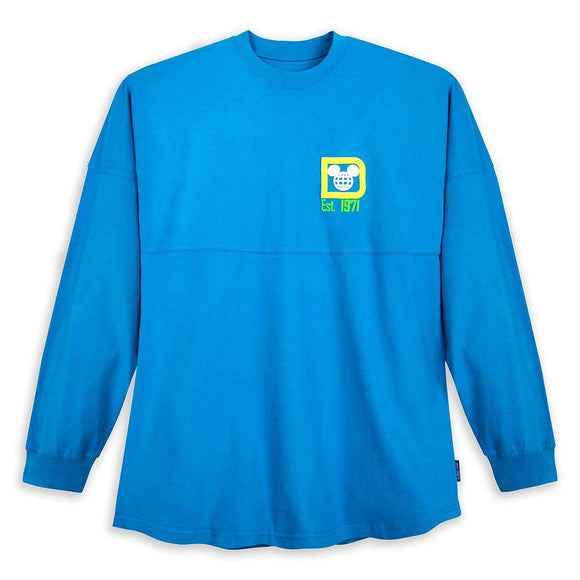 Walt Disney World Spirit Jersey for Adults – Neon Blue