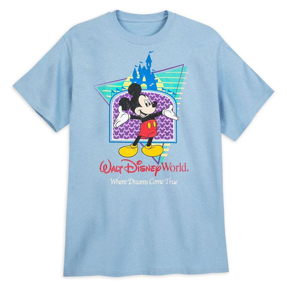 Mickey Mouse ''Where Dreams Come True'' T-Shirt for Men – Walt Disney World