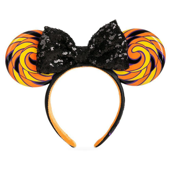 Disney Minnie Mouse Ear Headband with Sequined Bow – Halloween Candy - Pixiedust Shopper