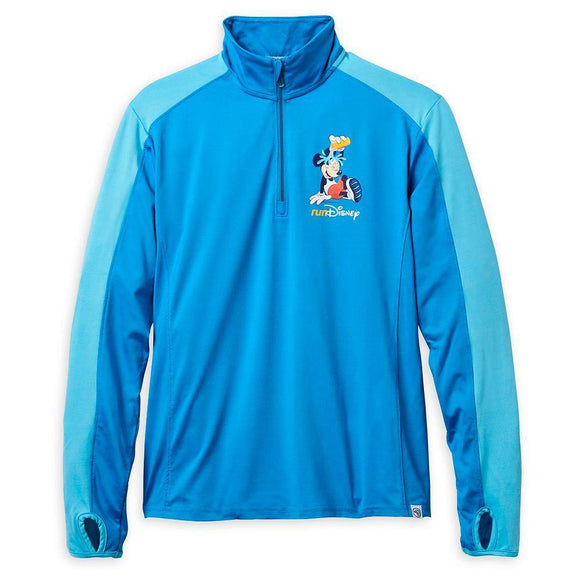 Disney Mickey Mouse runDisney Half-Zip Performance Pullover for Women