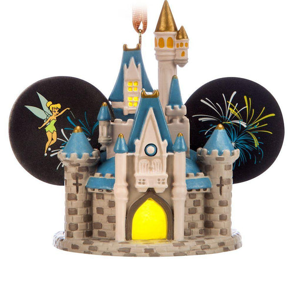 Disney World Cinderella Castle Light-Up Ear Hat Ornament
