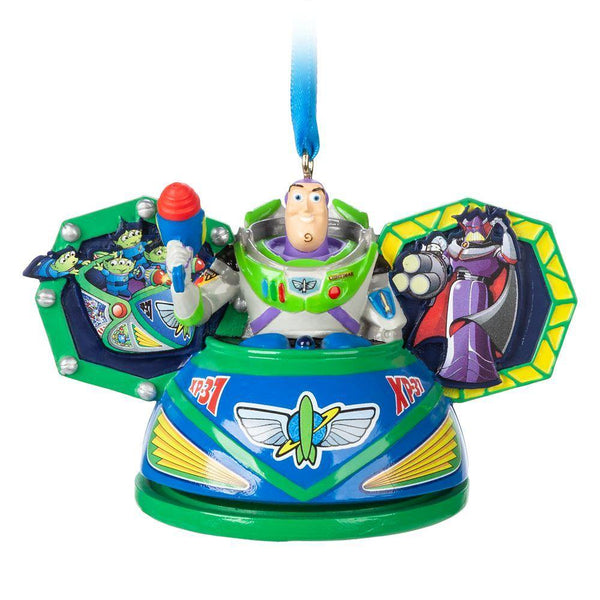 Disney Buzz Lightyear Space Ranger Spin Ear Hat Ornament