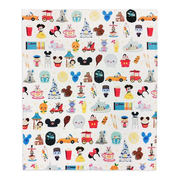 Disney Parks Fleece Throw Blanket by Jerrod Maruyama