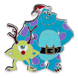 Sulley and Mike Wazowski Holiday Pin