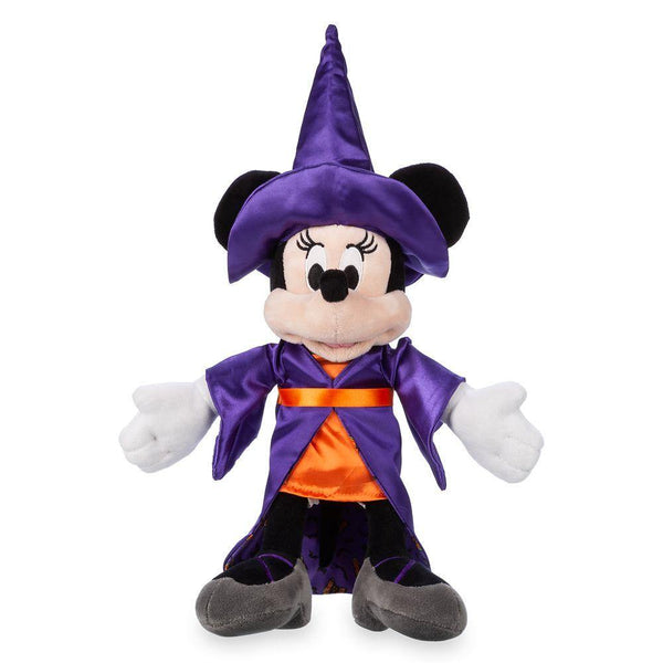 Disney Minnie Mouse Witch Plush – Halloween – Small – 12''