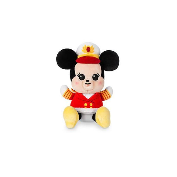 Captain Minnie Mouse Disney Cruise Line Wishables Plush – Micro – Limited Release - Pixiedust Shopper