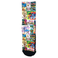 Disney Retro Magic Kingdom Adult Socks