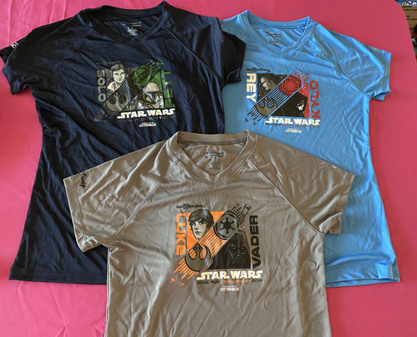 RunDisney Star Wars Rival Run 2019 Race Shirts Women's Medium