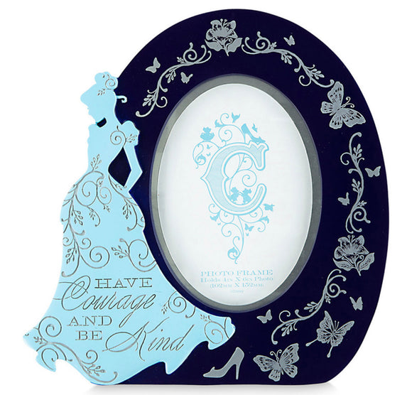 Disney Cinderella Oval Filigree Photo Frame Dreaming Collection