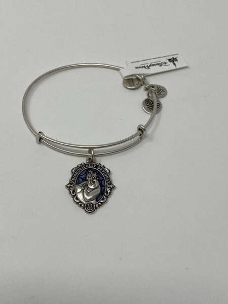 Disney Ursula Diabolically Devious Silver Alex and Ani Bracelet