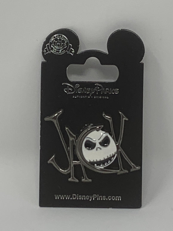 Disney Jack Skellington Letter Pin