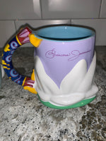 Disney Princess Jasmine, Ariel, Cinderella, or Snow White Mug
