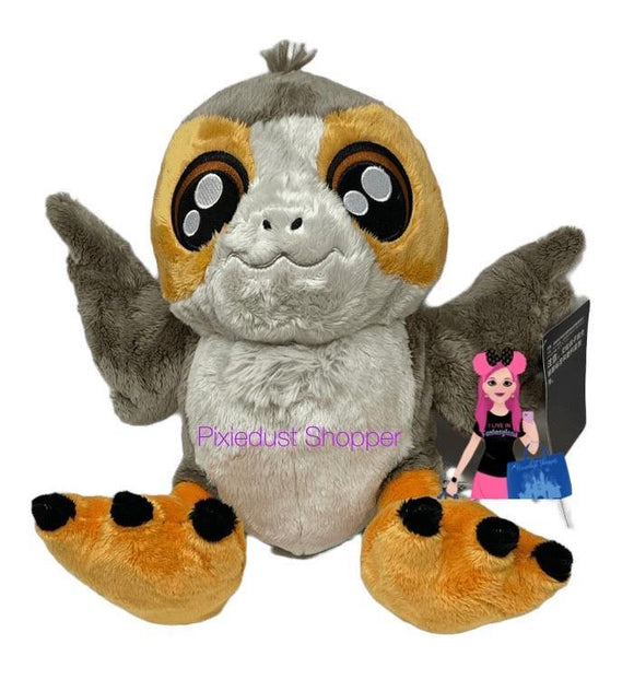 Disney Star Wars Porg Big Feet Plush – Small 10'' - Pixiedust Shopper
