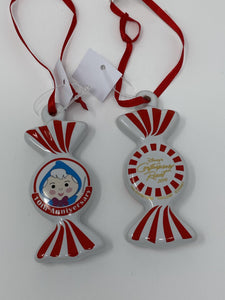 Disney Contemporary Resort Fairy Godmother 10 Anniversary 2019 Peppermint Twist Ornament