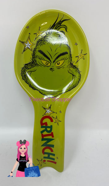 Universal Studios Dr. Seuss Grinch Spoon Rest