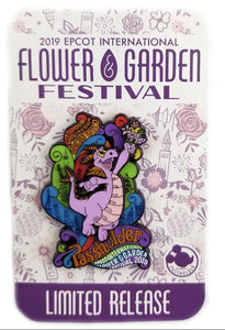 Disney Flower And Garden Pin - 2019 Figment Passholder