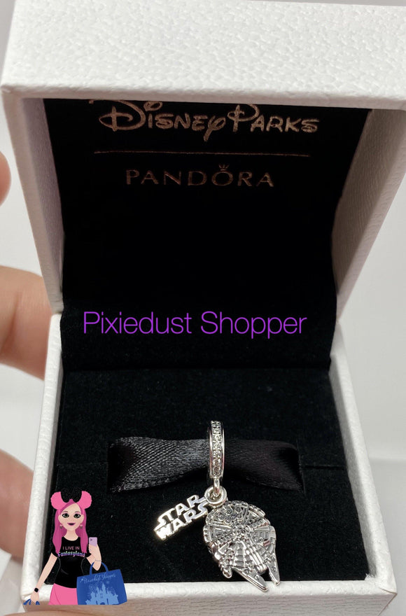 Disney Star Wars Millennium Falcon Charm by Pandora Jewelry