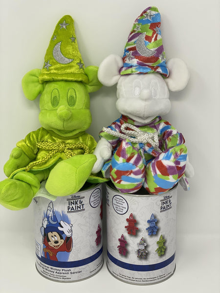 Disney Ink and Paint Sorcerer Mickey Mystery Plush Paint Can