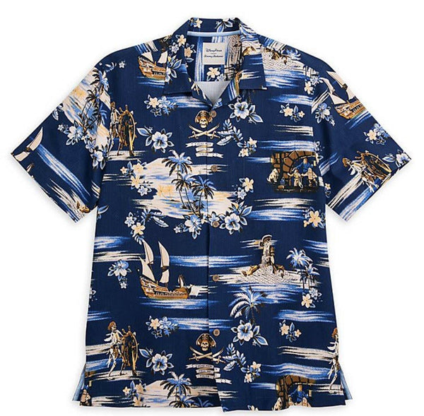 Disney Tommy Bahama Pirates of the Caribbean Silk Shirt for Men