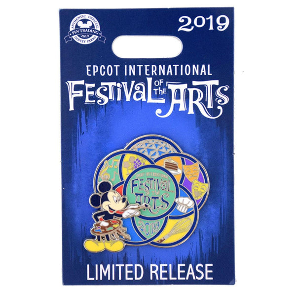Disney 2019 Festival of Arts Mickey Limited Release Pin