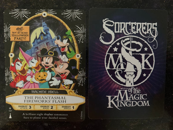 Disney MNSSHP 2019 Sorcerers of Magic Kingdom Card