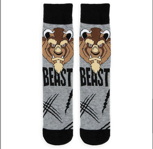 Disney Adult Beast Socks