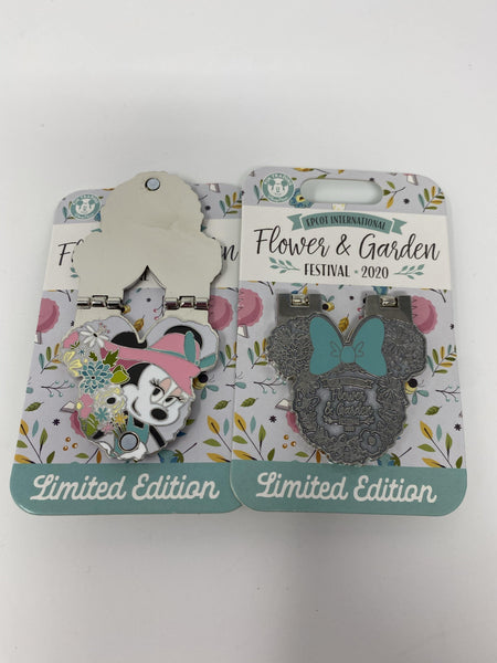 Disney Epcot 2020 Flower and Garden Festival Minnie Pin Limited Edition