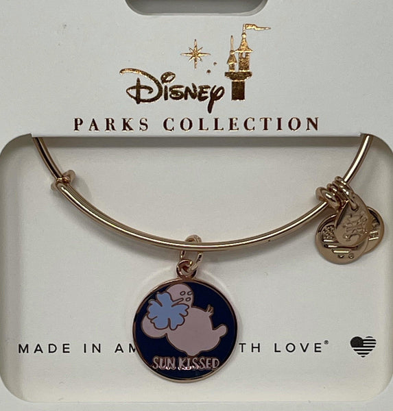 Disney Aulani Exclusive Sun Kissed Minnie Alex and Ani Bracelet in Rose Gold