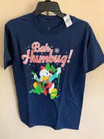 "Disney Donald ""Bah Humbug"" Holiday Adult Shirt"