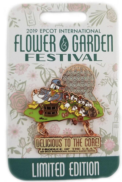 Disney Flower And Garden Pin - 2019 Donald & Nephews