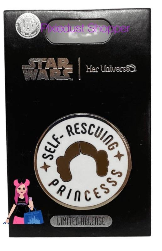 Princess Leia Pin by Her Universe – Star Wars – Limited Release