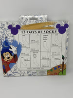 Disney Ink and Paint 12 Days of Socks
