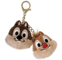 Disney Chip and Dale Plush Bag Clip Keychain - Oh My Disney
