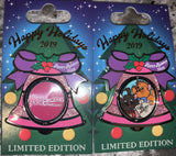 Disney 2019 Happy Holiday Resort Spinning Bell Pin-Limited Edition 750-3000 - Pixiedust Shopper