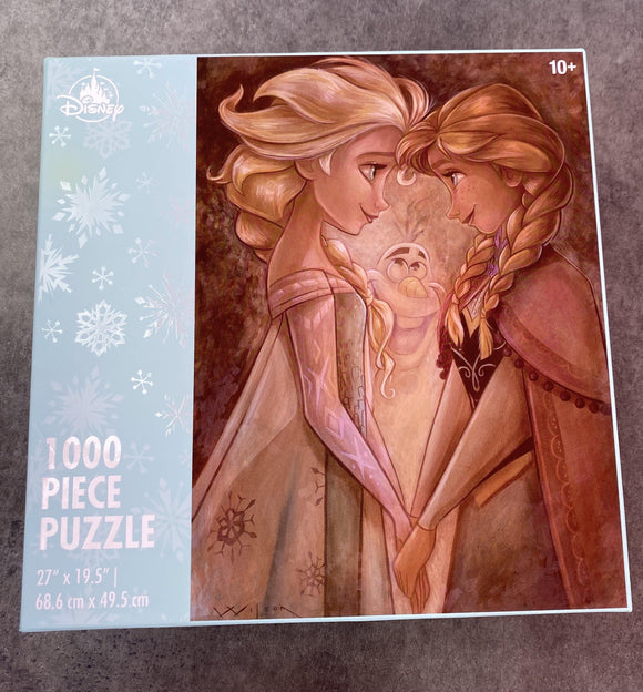 Disney Frozen Anna, Elsa, and Olaf 1000 Piece Jigsaw Puzzle