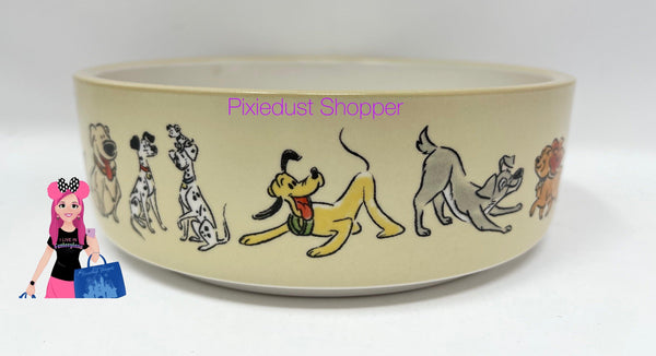 Disney Tails Dogs Pet Dish