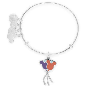 Disney Mickey Mouse Balloons Silver Alex and Ani Bracelet