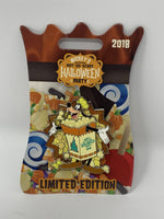 Disney MNSSHP 2018 Goofy Popcorn Halloween Party LE Pin