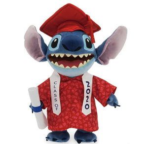 "Disney Class of 2020 Graduation Stitch 11"" Plush"
