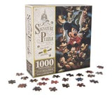 Disney Parks Mickey Mouse Through the Years 1000 Piece Jigsaw Puzzle by Darren Wilson