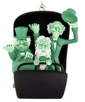 Disney Haunted Mansion Glow in the Dark Hitchhiking Ghosts in Doom Buggy Ornament