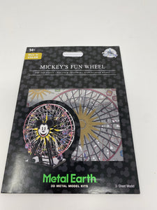 Disney Metal Earth Mickey's Fun Wheel-Color