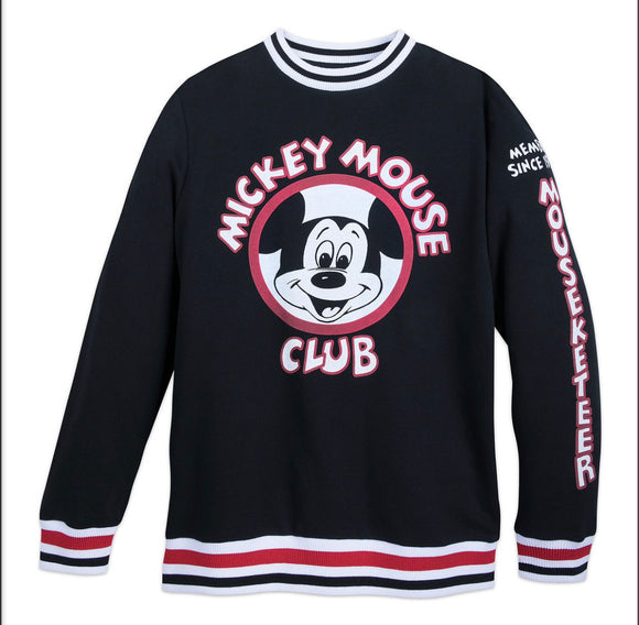 Disney Mickey Mouse Club Banded Sweatshirt